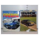 Pontiac Firebird Book & Buick Muscle Cars Book