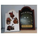 All Star Sign w/Interchangeable Sports Emblems