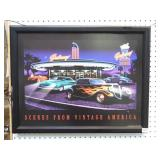 Scenes From Vintage America LED Picture