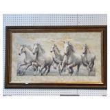 Running Horses Painting