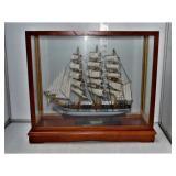 Ship Model in Display