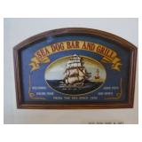 Sea Dog Bar & Grill Picture & Knot Shadow Box