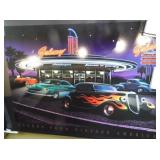 Scenes From Vintage America NEONLED Picture - New