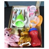 Baby Cups, Spoons & Decorations