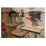 Several Drill presses incl. Jet, Craftsman