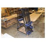 Large selection of wood clamps incl. Irwin