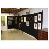 Black Pro Panel Booth Pro 10 x 10 Panel walls