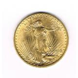 #16 1908 $20 Saint Gaudens Double Eagle Gold Coin