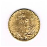 #19 1920 $20 Saint Gaudens Double Eagle Gold Coin