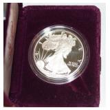 #155 1986 American Eagle One Ounce Silver Dollar