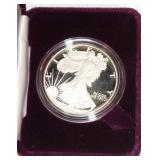 #161 1990 American Eagle One Ounce Silver Dollar