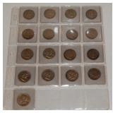 #180 (20) Silver Halves incl. (14) Franklins, etc.