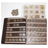 #118 Washington Silver Quarter Lot incl. book