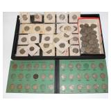 #128 Misc. Buffalo Nickel Lot incl. Book