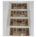 #139 Lot of Ann Arbor Bills, Millers Bank of Washtenaw