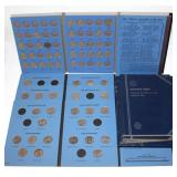 #136 Large Coin Book Lot incl. 4 State Quarter Books