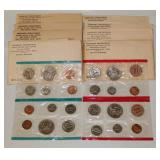 #221 1968-1972 U.S. Uncirculated Proof Set +