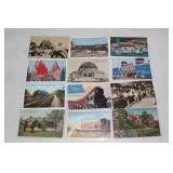 Large selection of Colored postcards