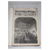 1860's Harpers Weekly Book