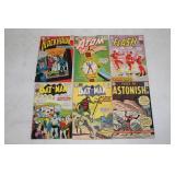 Blackhawk, Atom, Tales to Astonish, Flash, Batman