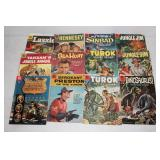 Turok, Dinosaurus, Sea Hunt, Hennesey, Jungle Jim