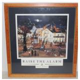 Raise the Alarm Firefighting print
