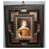 Antique oil on canvas framed