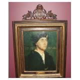 Etatis SVE ANNO XXXIII Holbein Portrait