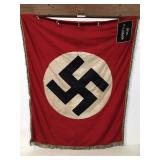 Large Nazi German Flag- FFM Eckenheim