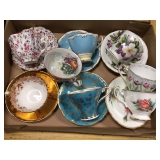 Various Cup and Saucer sets
