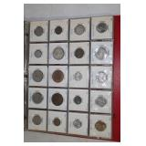 Mostly Foreign coinage- some silver