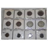 Australian coins in sheets-
