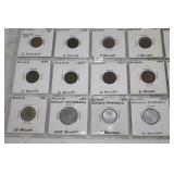 Austria Coins- 2 Heller, Kronen, etc.