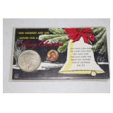 Christmas Peace Silver dollar