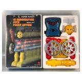 #864 NOS B/O Super Robot -12 Combination w/ Funny Action w/ box