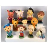 #852 11 Bobbleheads incl. My Hero, Porky the Pig