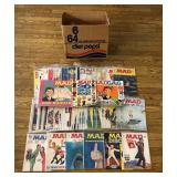 #875 Mad Magazine lot of 56 (Mostly 73-76 Many Doubles)
