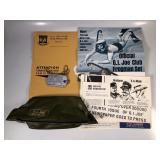 #862 GI Joe Shaver kit (just bag) and Membership packet w/ dog tag