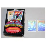 #877 Marvel Universe Official Super Hero Trading Cards Box