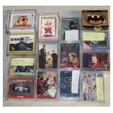 #876 Collection of 14 different trading card sets