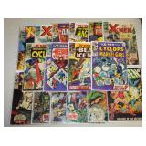 #878 Marvel X-Man Comic lot incl. Cyclops, The Beast and Ice Man,