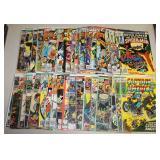 #881 Comic lot incl. Capitan America, Fantastic Four, Tomb,