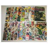 #888 Marvel and DC Comic lot incl. some 12c,  Fantastic Four,