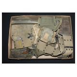 #856 WW1 Field Gear Lot, incl. Pistol Belts