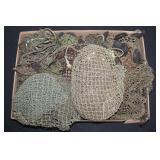 #871 Large Lot of helmet Nets around 50 US helmet nets
