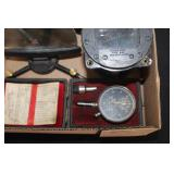 #877 USAAF Aircraft Instruments and Headphones