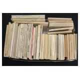 #902 Lot of smaller field Manuals