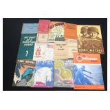 #861 Box lot of paper, incl manuals