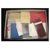 #866 WW1 Books, Manuals, incl Jewish Prayer book