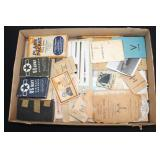 #867 WW2 Books, Manuals, and Photography, and ID cards